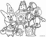 Spongebob Coloring Pages Squarepants Printable Cool2bkids sketch template