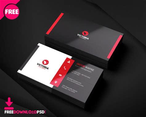 stylish corporate business card freedownloadpsdcom