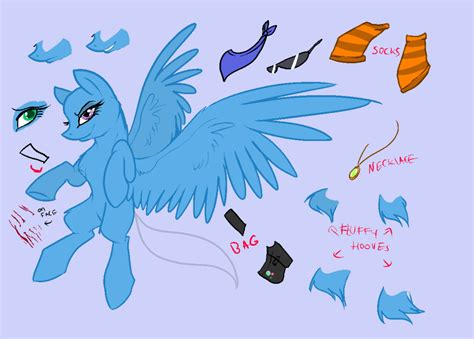 Mlp Pony Pegasus Base By Xxcaliforniaangelxx On Deviantart