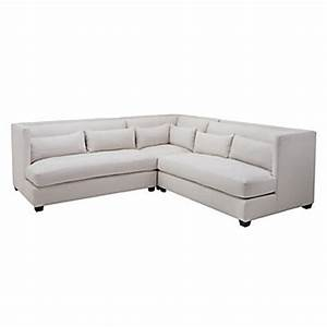 Pierce 3 pc sectional natural sectionals sofas for Cloud sectional sofa z gallerie