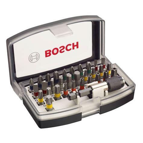 bosch professional bit set bosch 2607017319 professional screwdriver bit set 32