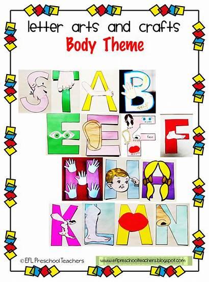 Preschool Crafts Theme Letter Teachers Esl Arts