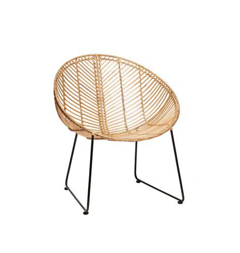 formsch 246 ner stuhl aus rattan d 228 nisches design von h 252 bsch