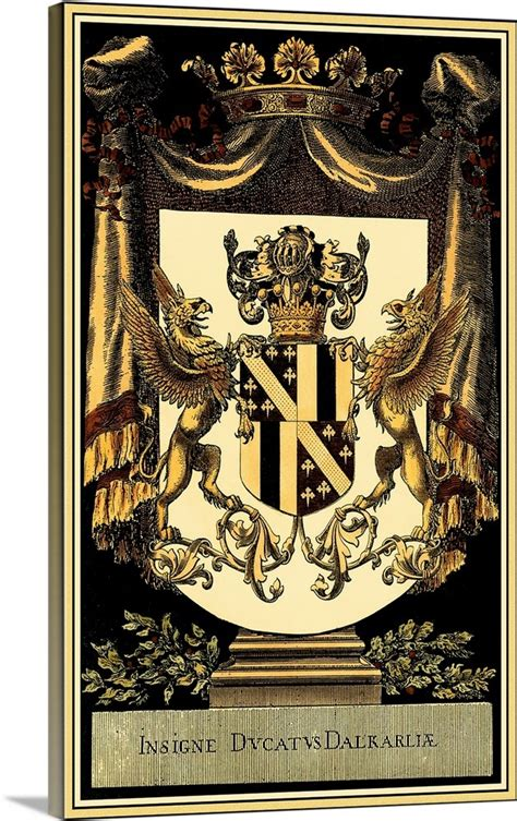 A wide variety of decor crest options are available to you, such as feature, technics, and badge type. Family Crest I Wall Art, Canvas Prints, Framed Prints, Wall Peels | Great Big Canvas
