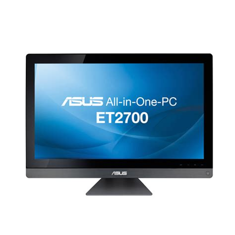 ordinateur de bureau all in one asus all in one et2700ints 27 quot i7 2600s 8 go