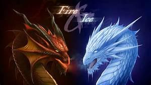 Fire Dragon Vs Ice Dragon Wallpaper | Wallpaper Studio 10 ...