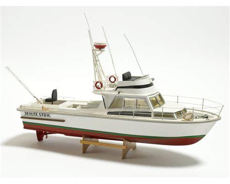 Odell Boat by Billing Boats B570 White Motor Boat Model Boat