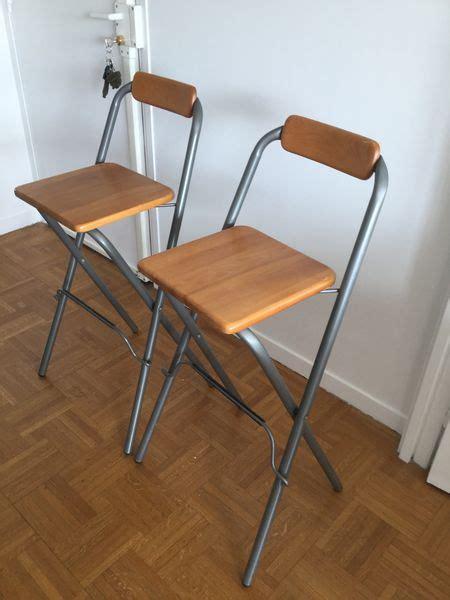 tabouret de bar ikea occasion achetez deux chaises hautes occasion annonce vente 224 75 wb149577604