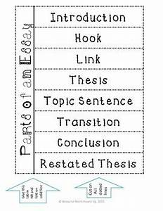 Parts of an Essay INB Foldable and Quiz by Classroom on a ...