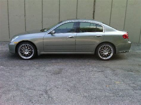 2006 Infiniti G35x by Sell Used 2006 Infiniti G35x Sedan With Only 43 677