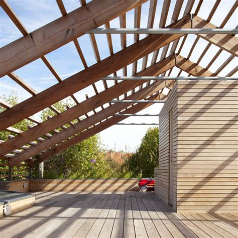 terrasse toiture transparente terrasse alu design de maison