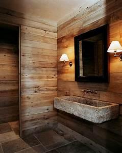 la vasque en pierre en 72 photos archzinefr With salle de bain bois et pierre