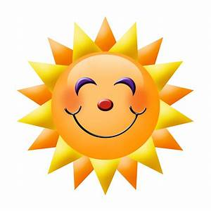 Animated Smiling Sun - ClipArt Best