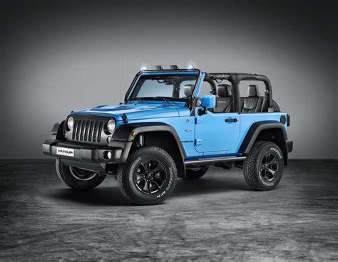 european jeep wrangler jeep unveils mopar one rubicon at geneva jk forum