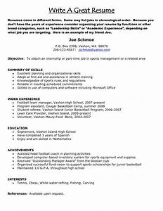 how do you write a good resume resume examples 2017 With how do you write a resume