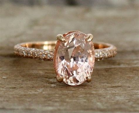 25+ Best Ideas About Peach Champagne Sapphire On Pinterest. Husband And Wife Bands. Simple Statement Necklace. Ridiculous Engagement Rings. App Watches. Gold Locket Chains. Yellow Gold Band. Freindship Bracelet. Golden Sun Pendant