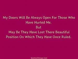 Quotes About Doors QUOTES OF THE DAY