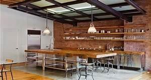 10 idees deco de cuisine style industriel deco cool With meuble salon couleur taupe 10 idees relooking interieurpeinture sur meuble recup