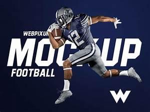 8 NEW Football Mockups By Brandon Williams Dribbble