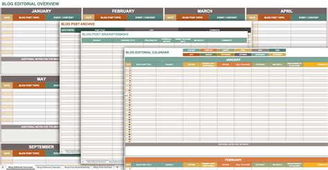 Blogs Exle Free Marketing Plan Templates For Excel Smartsheet