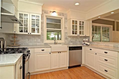 houzz white kitchen cabinets carrara marble kitchen grey gray and white traditional 4360