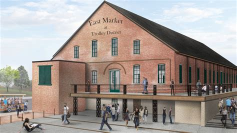 Barn Columbus by 30m East Market Comes Together Now Comes The