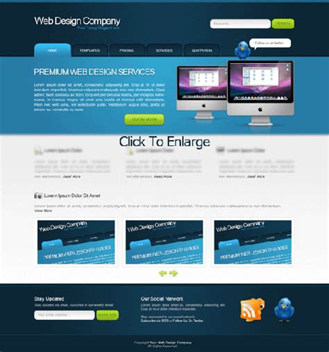 web design layout website layouts 50 professional photoshop tutorials