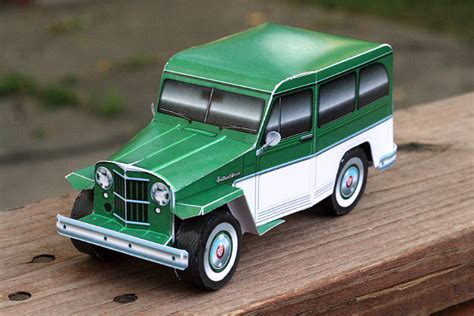 willys jeep wagon papercruisercom