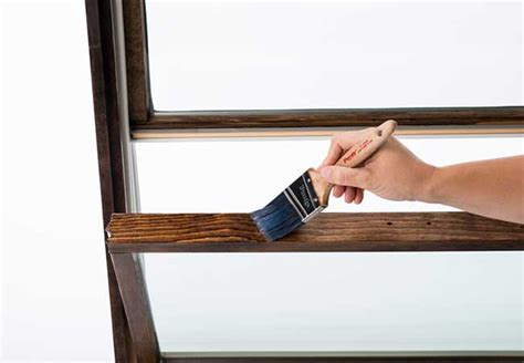 stain wood windows pella