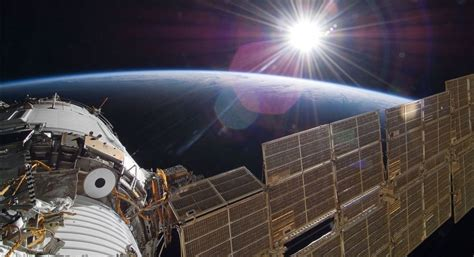 'UFO' Seen in Live Space Station Video Is Just Fluff   Space