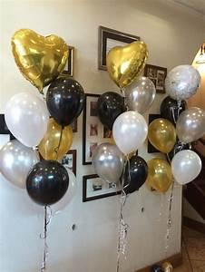 Engagement balloons! Feature foil arrangement alternating ...