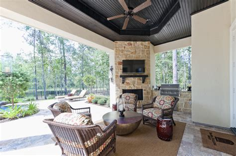 cover patio ideas patio contemporary with area rug ceiling