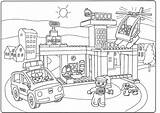 Caravan Pages Colouring Van Lego Coloring Printable Getcolorings sketch template