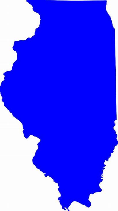 Illinois Map Election 1972 State Svg Clipart