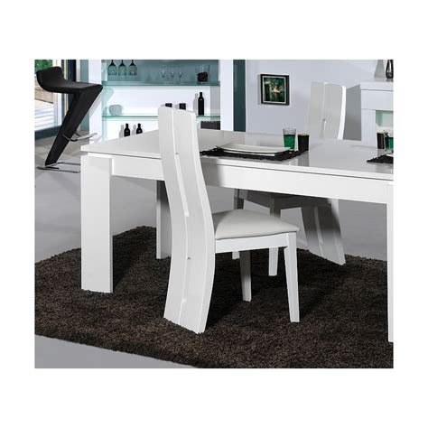 chaise blanche salle a manger chaise salle a manger blanche uccdesign com