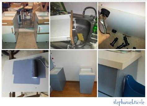 faire bureau soi meme faire soi m 234 me un bureau avec des meubles de cuisine et un panneau mural quot ardoise quot et