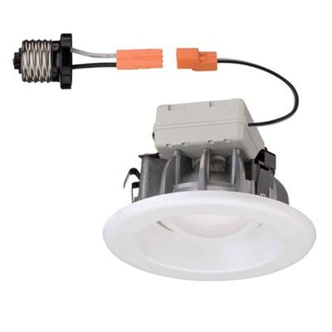 commercial electric 5 inch recessed lighting commercial electric white recessed led trim 4 inch