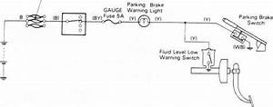 Brake Warning System Circiut Diagram