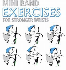 Six Mini Loop Bands Wrist Exercises Build Strength