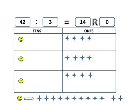 single digit vertical division with regrouping maths division with regrouping in tens and ones worksheet