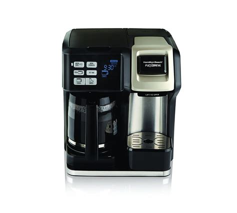 When you see hamilton beach flexbrew coffee maker then the first thing which you'll see on the top coffee pot's digital clock. Hamilton Beach 49950C Flexbrew 2-Way Brewer Programmable ...