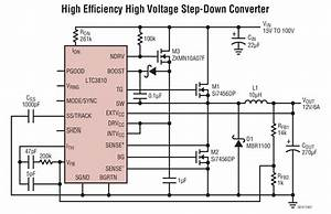 Ltc3810 High Ef Ufb01ciency High Voltage Step