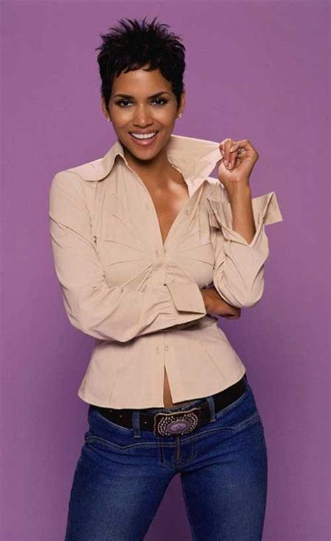 halle berry pixie cuts short hairstyles