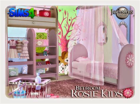 sims  blog rosie kids bedroom set  jomsims