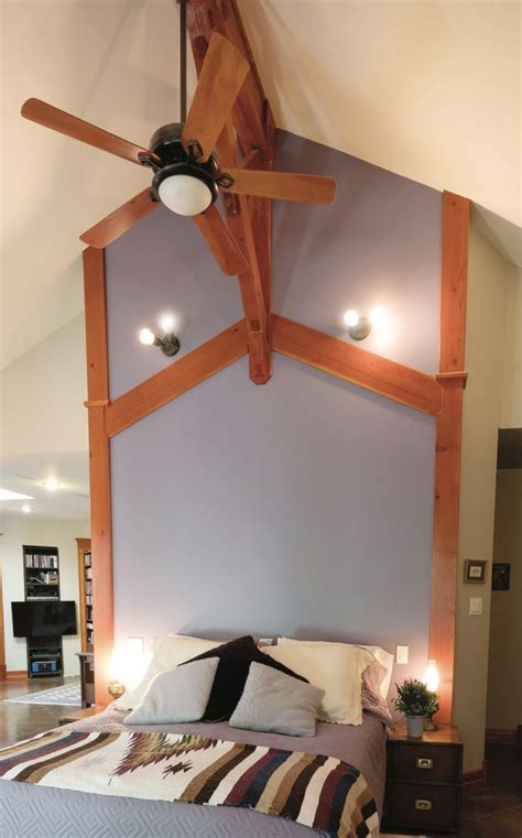 foot fan for bed house beautiful shawnigan home hand hewn with love