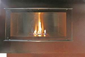 Bioethanol Kamin Bilder : theke aus rostigem stahl mit einem bio ethanol kamin und ~ Lizthompson.info Haus und Dekorationen