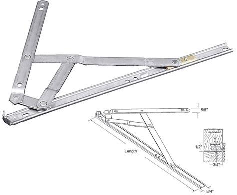 truth hardware  bar egress stainless steel casement window hinge