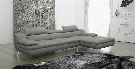 canap cuir gris clair canapé d 39 angle en cuir italien 5 places liberty gris
