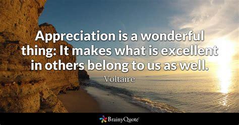 voltaire appreciation   wonderful