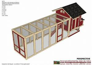 Plans for a chicken coop for 6 chickens ~ Build small